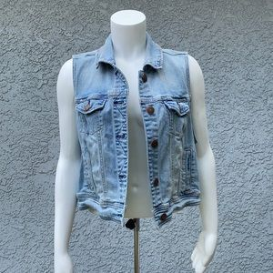 Vintage AEO American Eagle Denim Jean Jacket Vest